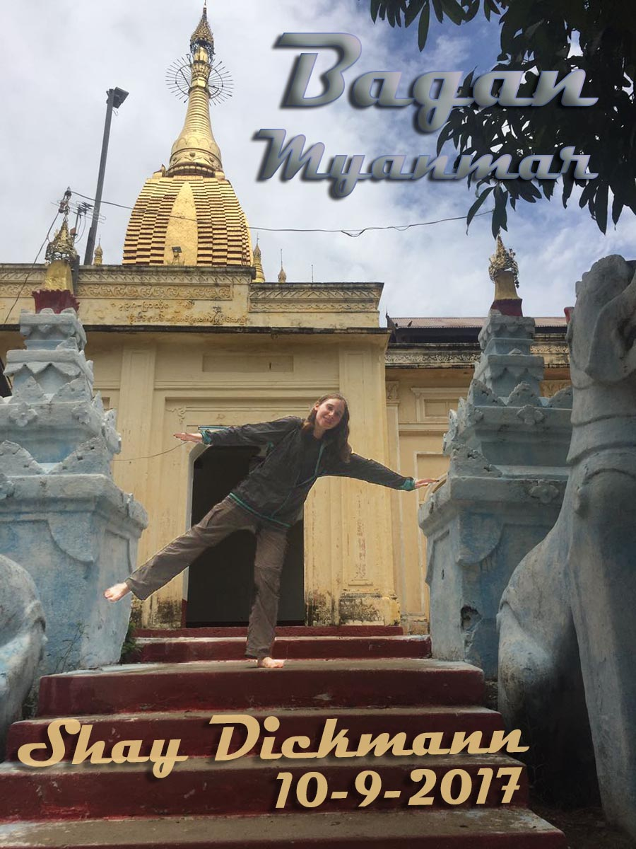 Shay Dickmann Myanmar