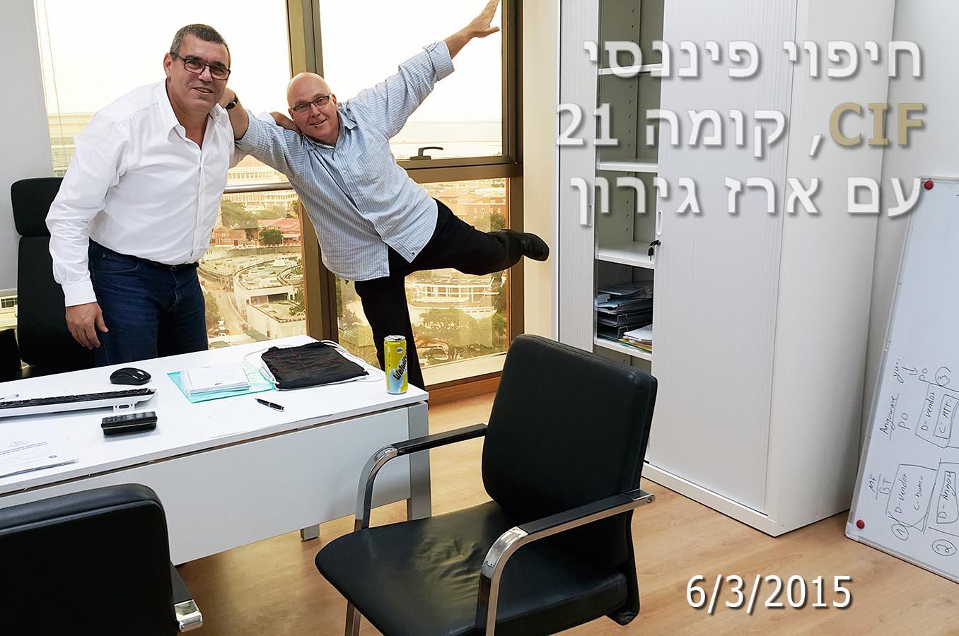 אוירון דיקמן ארז גרון