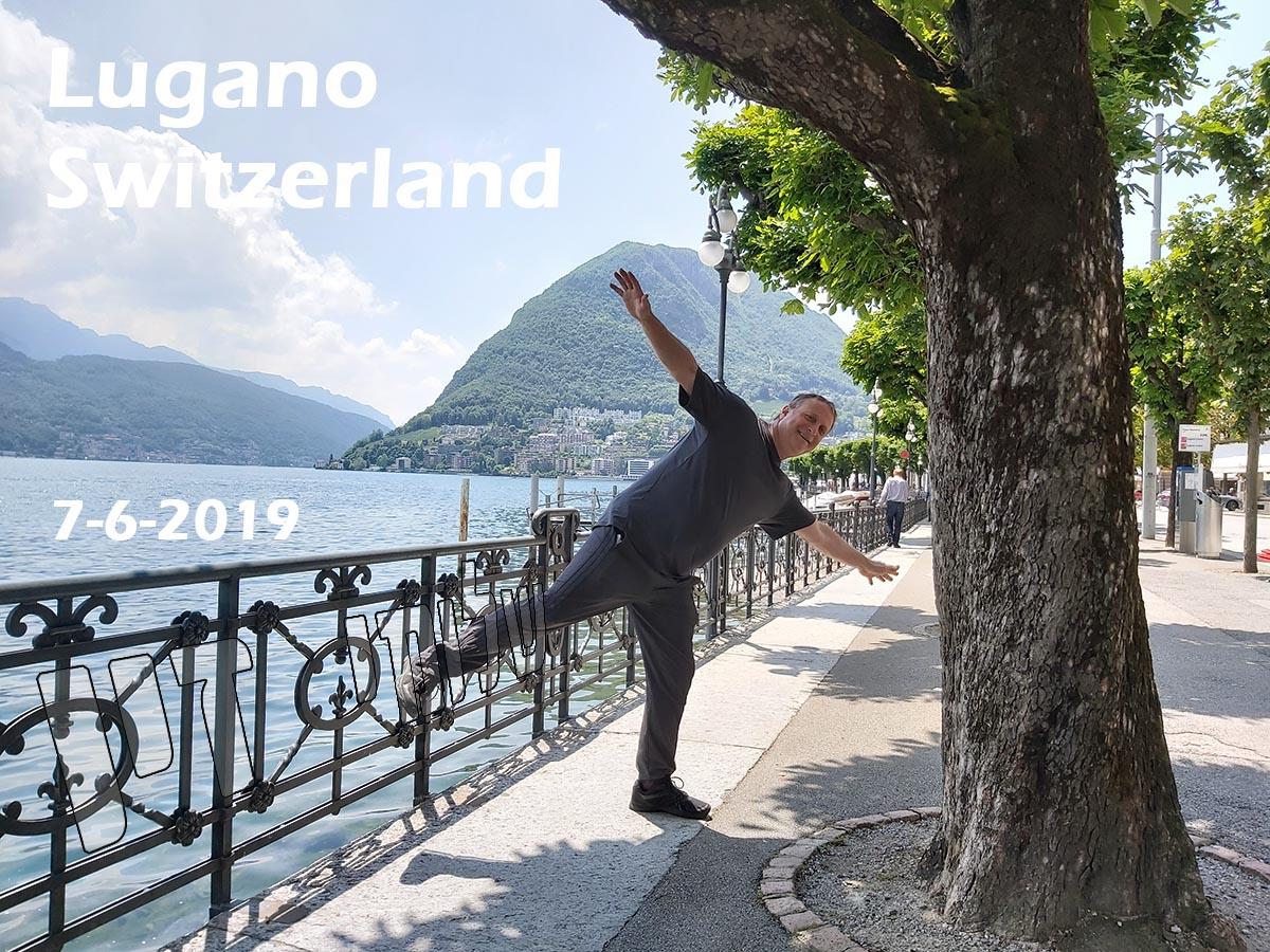 שלומי זיו, לוגאנו שוייץ